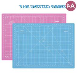 Zerro Cutting Mat Self Healing Mat Pink/Blue A4 Cutting Mat