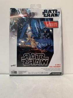 Dimensions Disney Star Wars Counted Cross Stitch Kit Luke &