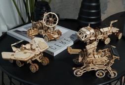 DIY Crafts Wooden Model Kits Handmade Laser Cut Solar Energy