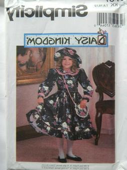 Dress Hat Purse Modest 7 8 10 12 Sewing Pattern Simplicity 9