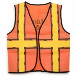 """Darice 15.9"""" by 18.8"""" Dress Up Vest, Construction Worker"""