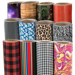 "Siser EasyPatterns Heat Transfer Vinyl HTV 12""x3ft /Roll"