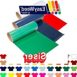 Siser Easyweed Heat Transfer Vinyl HTV - Pick 5 Colors for $