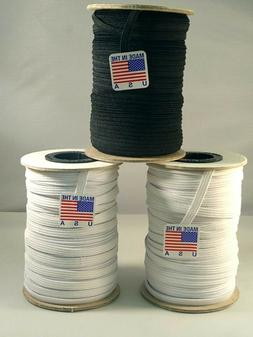 Elastic White 1/4 inch Made in USA - # 1 Seller Item - HIGH
