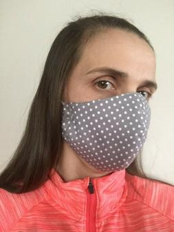 Face mask,USA MADE!!!!3LAYERS!!!!!!  filter pocket HANDMADE