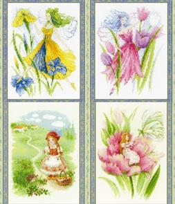 RIOLIS - Fairytales theme  - Counted Cross Stitch Kits