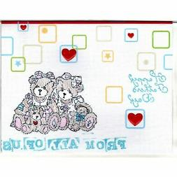 Fathers Day Handmade Father Bear With Family Good Greeting S