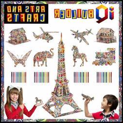 Fun Creative DIY Arts & Crafts KIT Best Toy Gift For Girls B