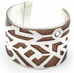 Sizzix Geo Bracelet Cuff Movers magnetic 2-die set #661329 M