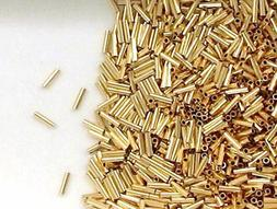 Gold-Filled 1 x 4 mm Liquid Gold Tube Beads for Beading or J
