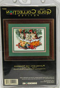 Dimensions Gold Petites Cross Stitch Kit #8657 Playing with
