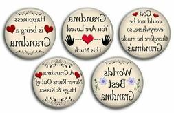 GRANDMA Fridge Magnet Sayings and Quotes Handmade Grandma Gr