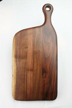 Set of 2 Hand crafted black walnut cutting boards