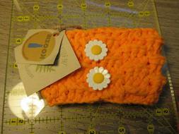Handmade Crochet Koozie coffee sleeve waterbottle beerbottle
