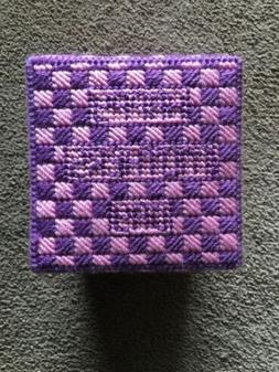 Handmade Happy Mothers Day Gift Box- Pink/Burgundy
