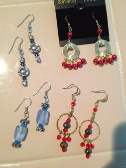Homemade / Crafted Fashion Jewelry SP & GP Drop/Dangle Hook