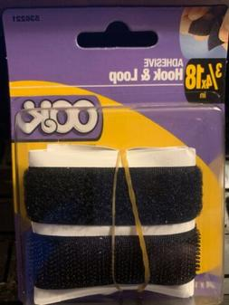 Hook and Loop Sticky Adhesive Backed Tape - Width 3/4 length