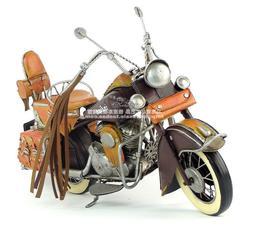 Indian Motorcycle Diecast Metal Model Iron Crafts Handmade B