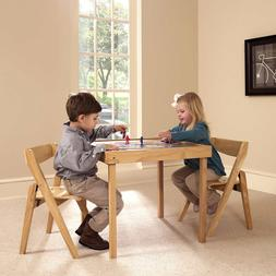 Indoor Furniture 3 Piece Set Table and 2 Chair for Children