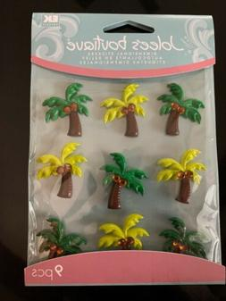 Jolee's Boutique Dimensional Palm Tree Stickers Crafts Car