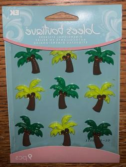 Jolees Palm Trees Cabochons Tropical Beach Card Making Craft
