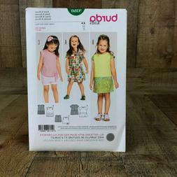 Burda Kids 9360 Toddlers Dress & Tops Sewing Pattern Size 2-