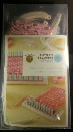 Martha Stewart Crafts Knit and Weave Loom Kit Lb5000 Factory
