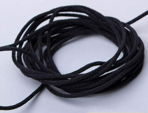 "1/8"" 3mm Round Elastic Band Cord Ear Sewing DIY 10"