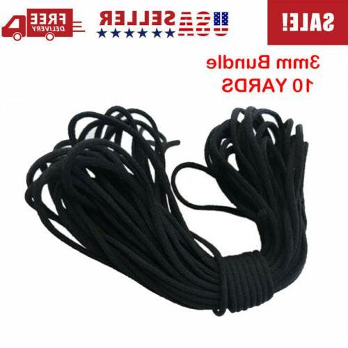 1 8 3mm round elastic band cord
