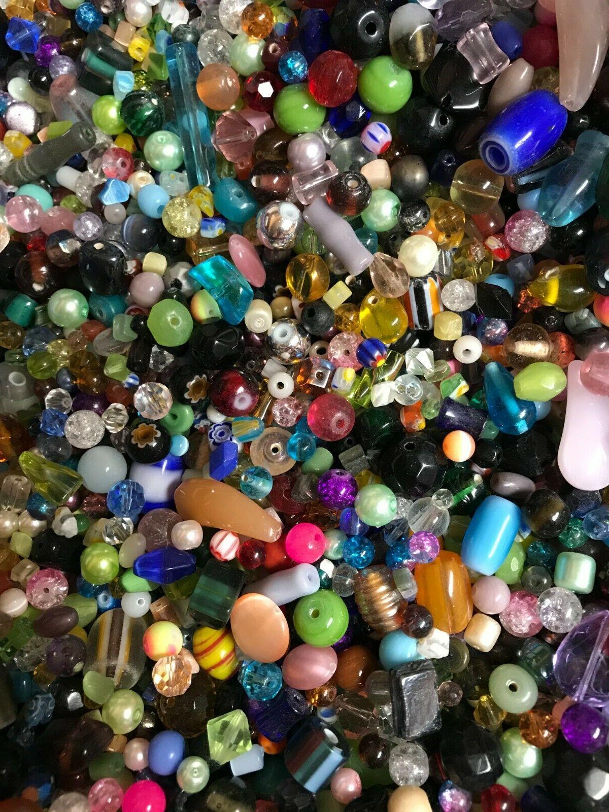 ~100~ Piece Loose Beads Mixed Craft Gift*