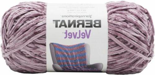 161032 32022 bernat velvet yarn shadow purple