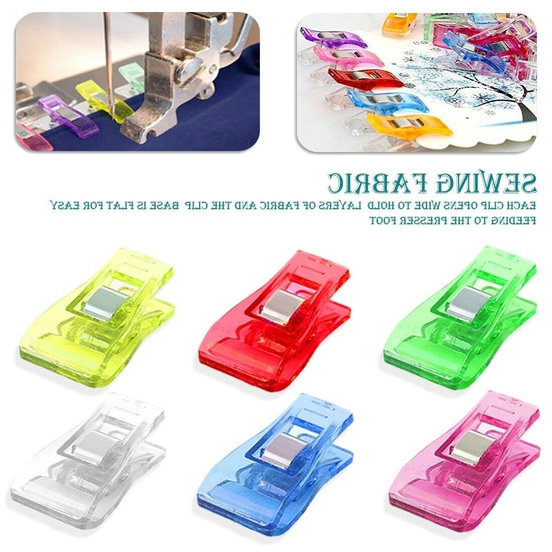 20/100 Pack Multipurpose Clips for Crafts Sewing Crochet