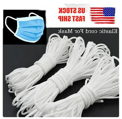 3mm round elastic band cord ear hanging