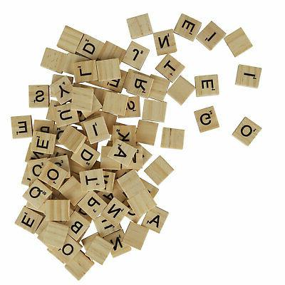 SCRABBLE WOOD TILES 400Pieces Full Sets Replacement