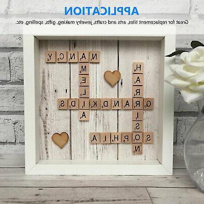SCRABBLE WOOD Full Sets Letters Wooden Replacement Pick
