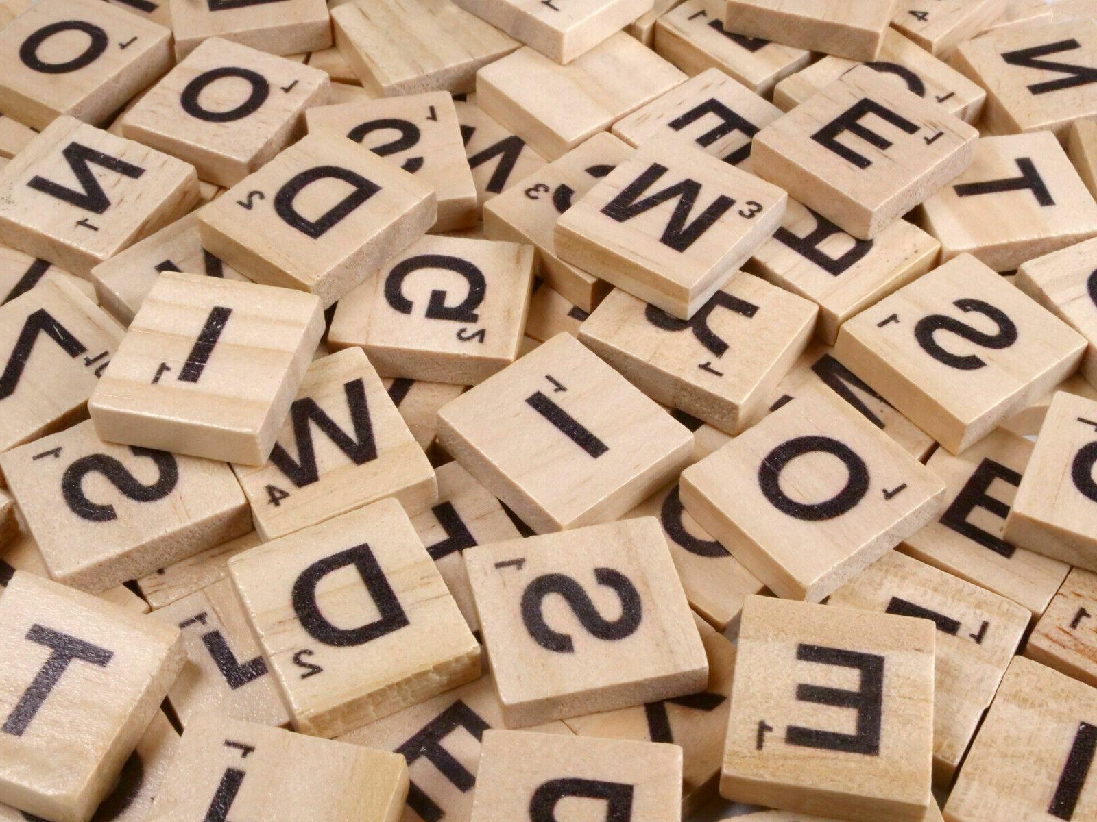 500pcs Letters Scrabble For Game Stock