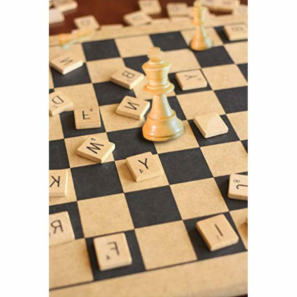 500pcs Scrabble Tiles Game &Crafts US Stock