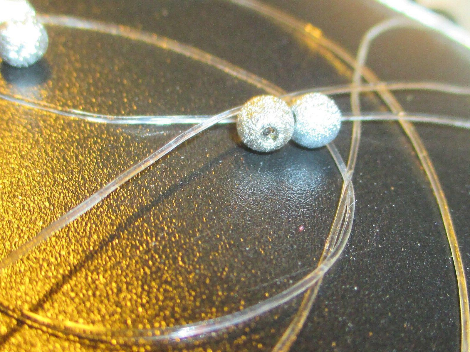 5mm elastic crystal clear beading cord stretch