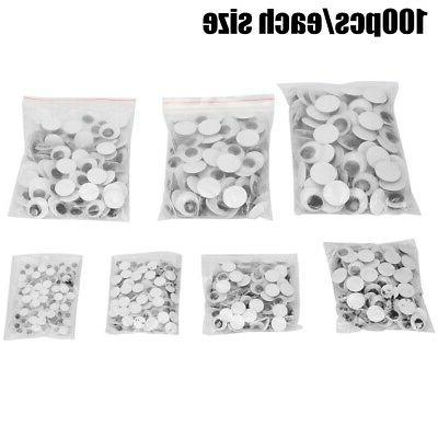 700PCS Self Wiggly Doll DIY With Back-adhesive