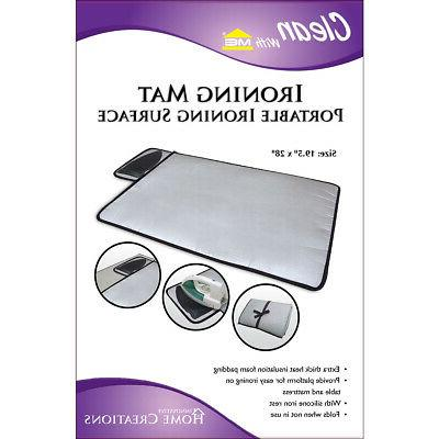 Innovative Home Creations 5000 Ironing Mat with Silicone Pad