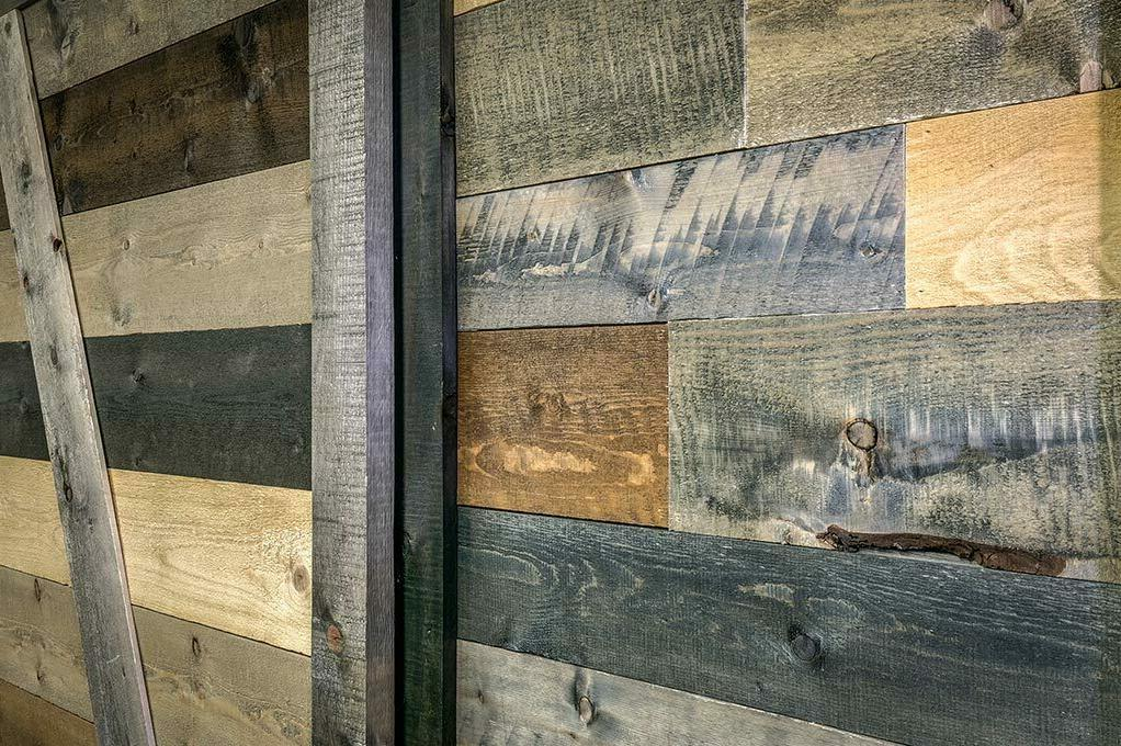 Accent Wall Box Reclaimed Barn - Complete Mix