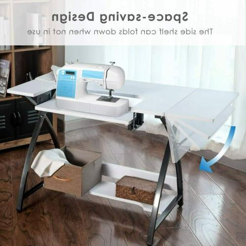 Adjustable Table Computer Sewing Machine Platform