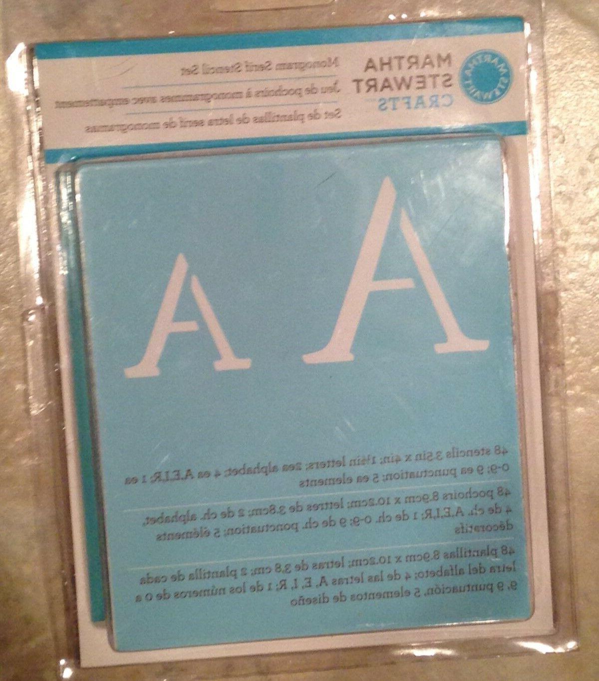 alphabet stencil 32277 monogram serif