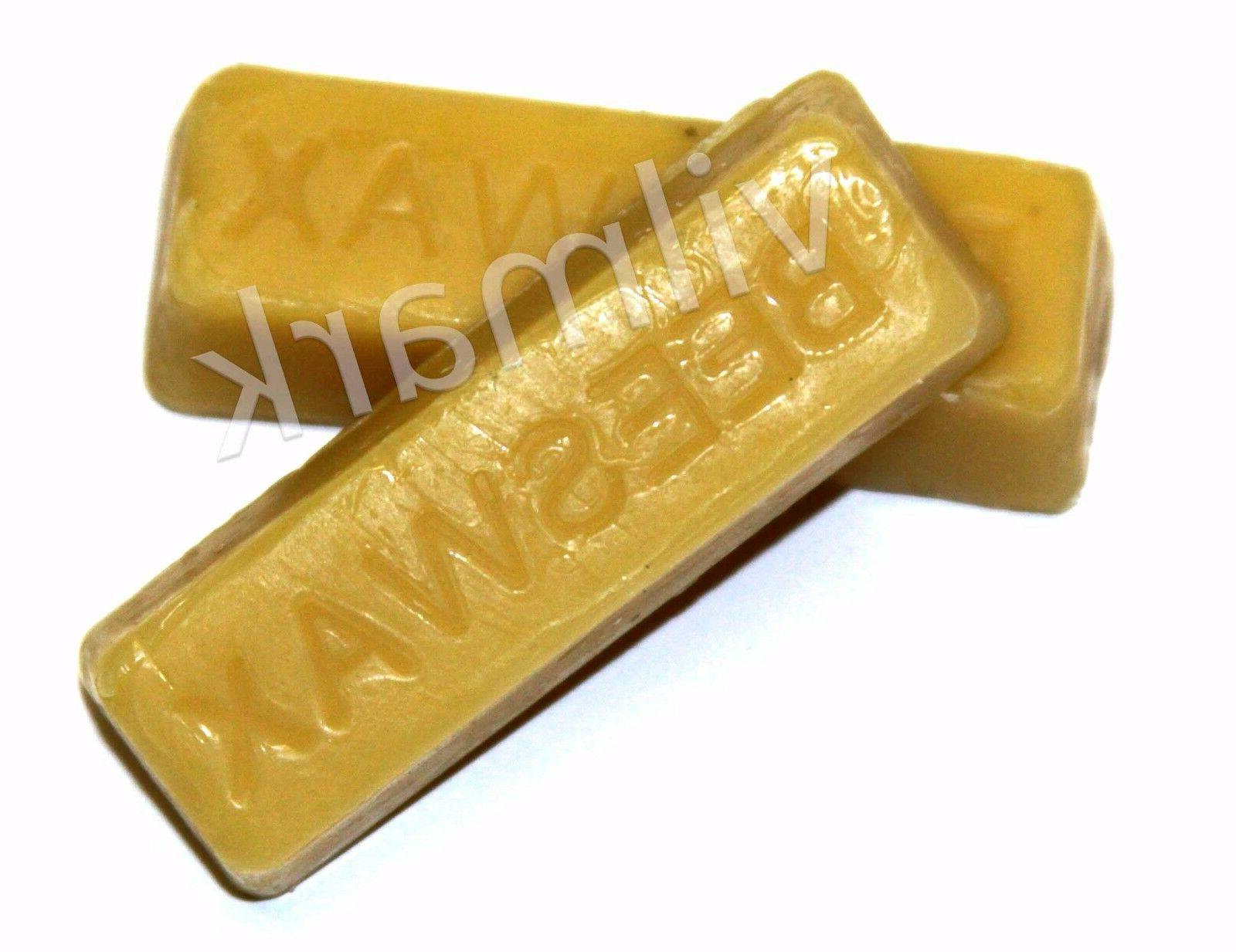 Beeswax Filtered 100% Pure Bees A bars