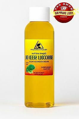 BROCCOLI SEED OIL ORGANIC COLD PRESSED ANTI-AGING by H&B Oil
