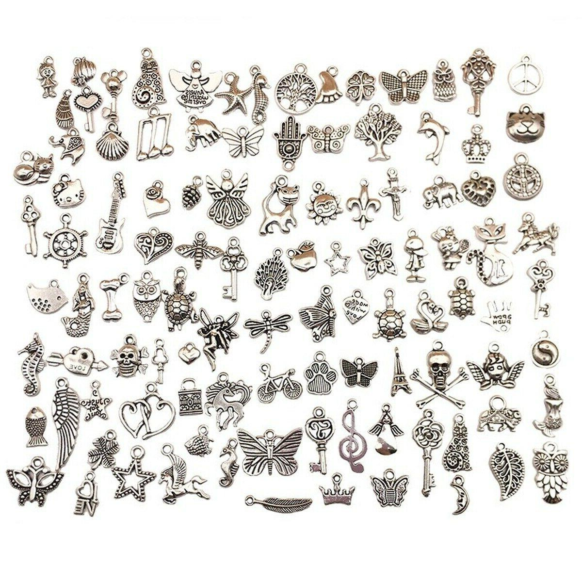 charms for jewelry making 100 style pendants