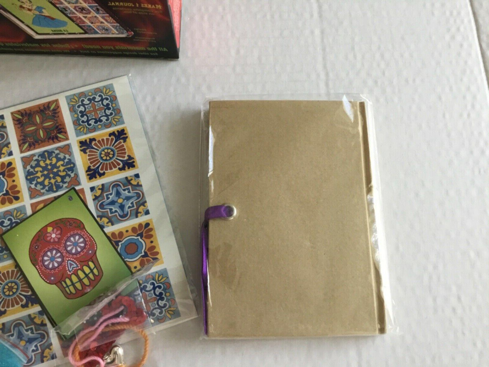 COLLAGE KIT By Crafty Chica Workshop-In-A-Box Makes 1 Journal