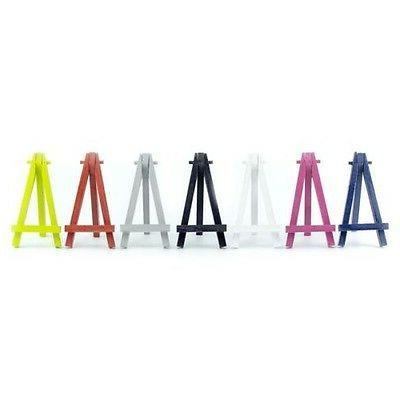 color 120mm 5 mini wooden artist easel