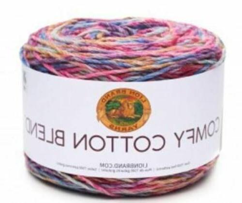 comfy cotten blend yarn