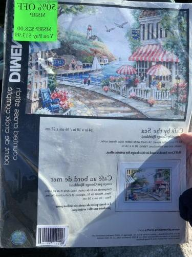 Dimensions Kit By Sea Needlepoint Sewing